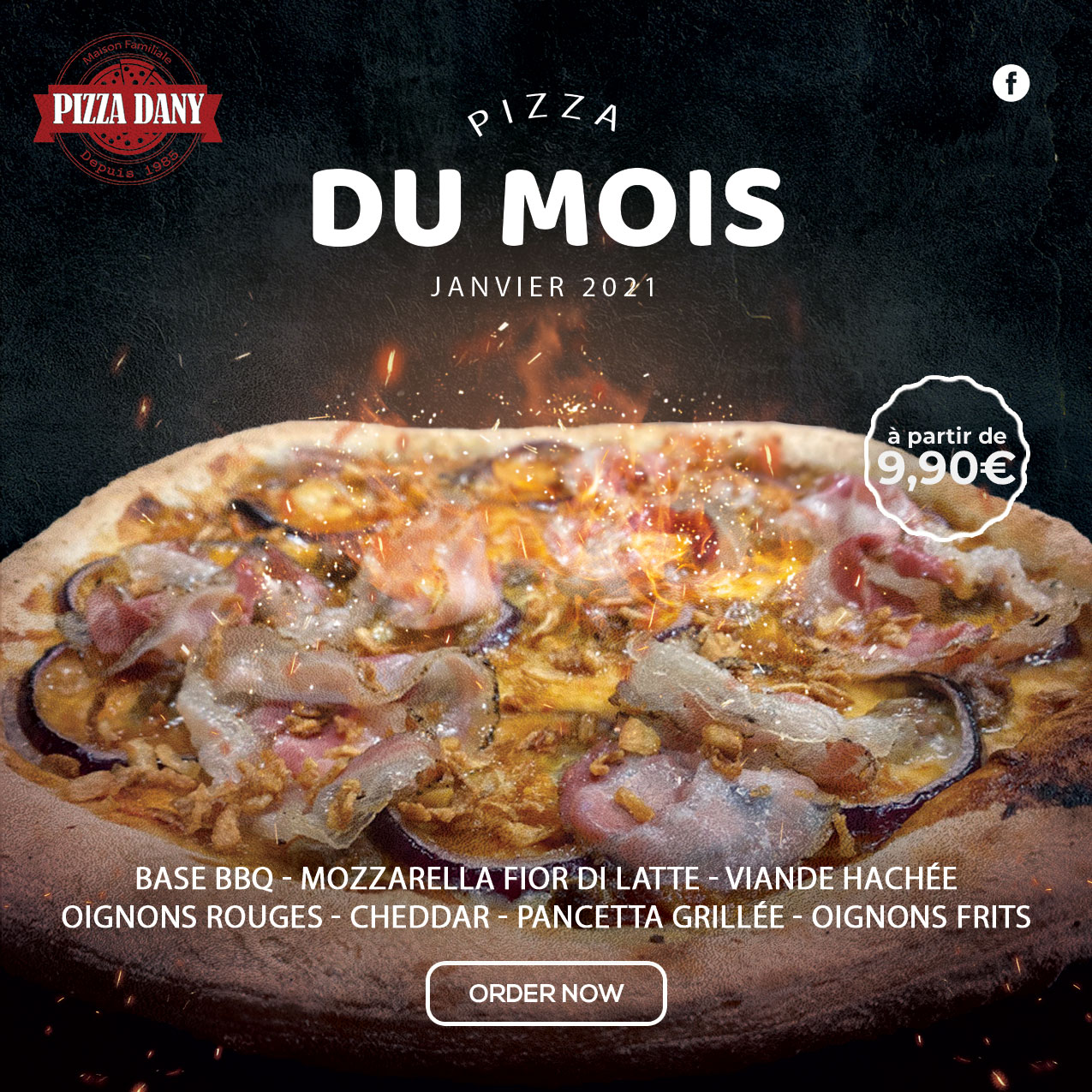 Pizza Dany | Pizza du Mois